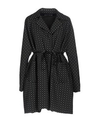 Collection Privee Overcoats Black