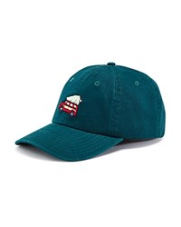 Vineyard Vines Woodie Christmas Tree Needlepoint Hat Charleston Green