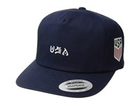 Hurley Usa National Team Hat Obsidian Caps Brown