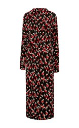 Marni Floral Printed Dress Black