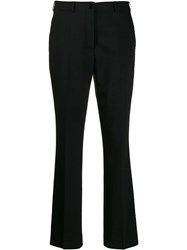 Etro Slim Fit Cropped Trousers Black