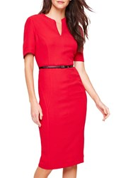Damsel In A Dress City Fitted Red