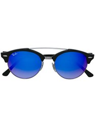 Ray Ban Round Framed Sunglasses Black