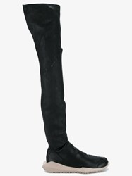 Rick Owens 'Tech' Thigh High Boots Black