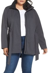 Columbia Plus Size Take To The Streets Ii Trench Coat Black