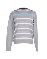 Harmontandblaine Knitwear Jumpers Men Light Grey