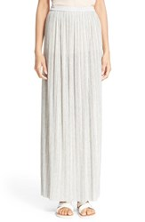 Women's Theory 'Osnyo' Pleated Knit Maxi Skirt