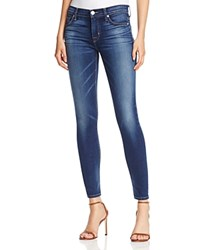 Hudson Nico Supermodel Length Skinny Jeans In Blue Gold
