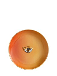 L'objet Lito Orange And Yellow Porcelain Plate Multicolor