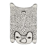 Donna Wilson Bear Shaped Cotton Throw