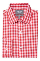 Men's Bonobos Slim Fit Wrinkle Free Gingham Dress Shirt