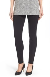 Nydj Women's Stretch 'Jodie' Ponte Leggings Black