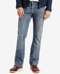 Levi's Men's 527 Slim Bootcut Fit Medium Chipped Wash Jeans
