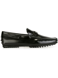 Tod's Buckled Loafers Black