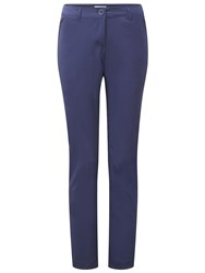 Craghoppers Kiwi Pro Stretch Long Length Trousers Twilight Blue