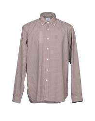 Agho Shirts Brick Red