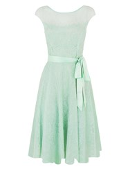 Kaliko Beaded Lace Prom Pastel Green
