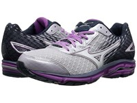 Mizuno Wave Rider 19 Lilac Marble White Hyacinth Violet Women's Running Shoes