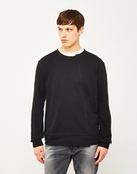 Nudie Jeans Co Simon Sweatshirt Black
