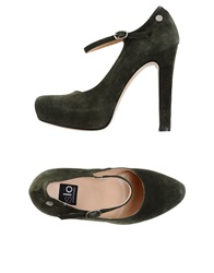 Islo Isabella Lorusso Pumps Military Green