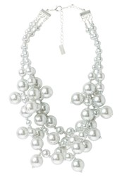 Sweet Deluxe Michaela Necklace Silvercoloured Grey