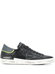 Philippe Model Worn In Trainers Black