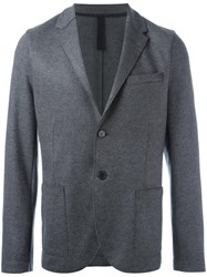 Harris Wharf London Fitted Blazer Grey