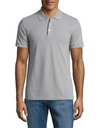 Brooks Brothers Cotton Polo Shirt Grey