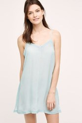 Eloise Gwen Laced Chemise Blue Tinted Aqua
