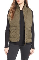 Thread And Supply Women's Lancaster Quilted Vest Olive
