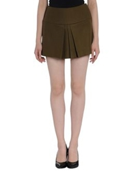 Paul And Joe Sister Mini Skirts Military Green