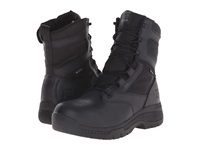 Timberland 8 Valor Duty Soft Toe Waterproof Side Zip Black Men's Work Lace Up Boots