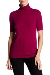 In Cashmere Turtleneck Tee Red