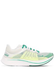 Nike Zoom Fly Sp Running Sneakers White Green