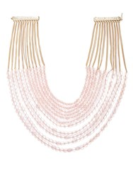 Rosantica By Michela Panero Raissa Beaded Necklace Pink