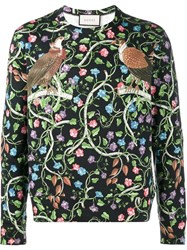 Gucci Birds Of Prey Sweatshirt Black