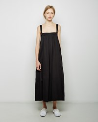 Black Crane Pleated Jumper
