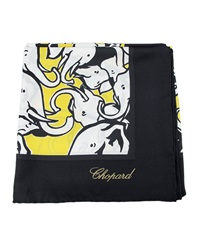 Chopard Baby Elephant Silk Scarf Yellow