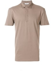 Versace Collection Metallic Medusa Polo Men Cotton Xxl Brown