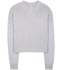 Miu Miu Cashmere Sweater Grey