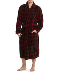 Polo Ralph Lauren Solid Microfleece Robe Avenue Red