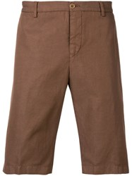 Etro Chino Shorts Brown