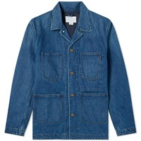 Nanamica Coverall Jacket Blue