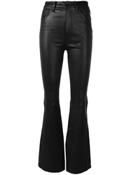 Rag And Bone Bella Flared Trousers Black