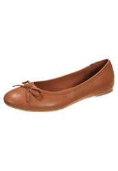 Anna Field Ballet Pumps Cognac