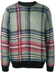Stussy Large Check Jumper Green