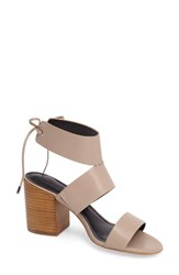 Rebecca Minkoff Women's 'Christy' Ankle Cuff Sandal Nude Leather