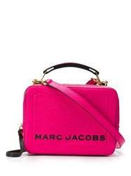 Marc Jacobs The Textured Box Bag Pink