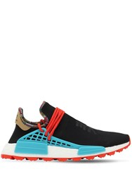 Adidas By Pharrell Williams Hu Nmd Sneakers Black Blue