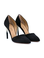 Proenza Schouler Painted Heel Pumps Black